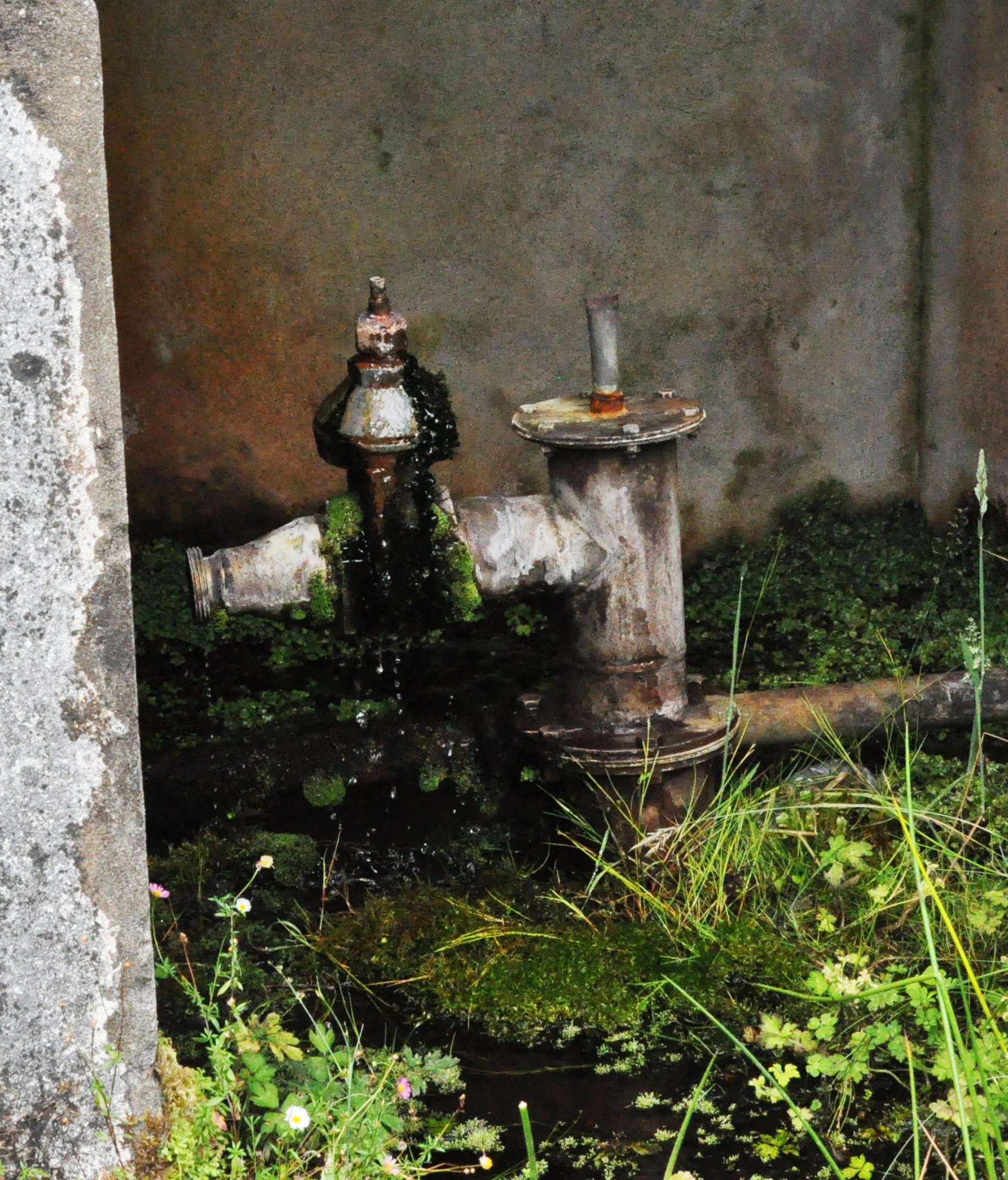 Mineralwasser Absperrventil