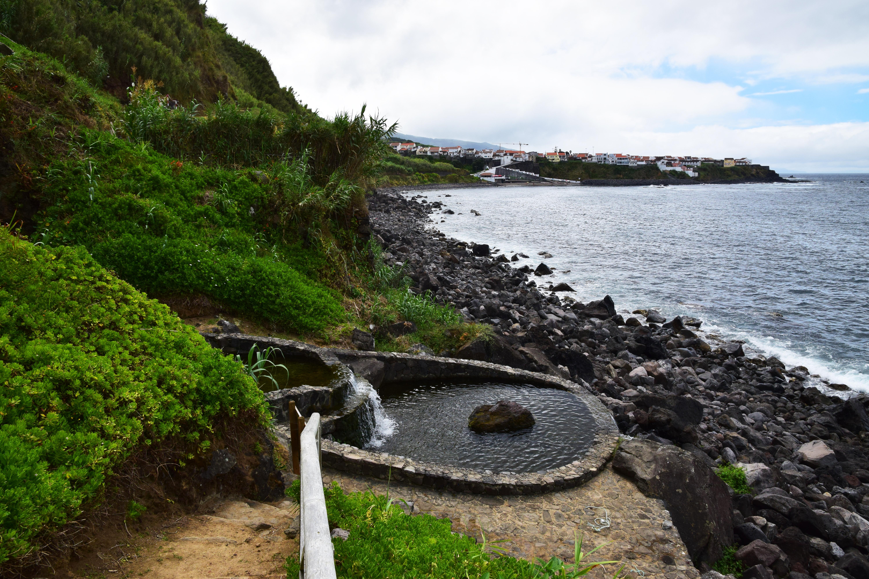 Water basin between Maia and Praia da Viola