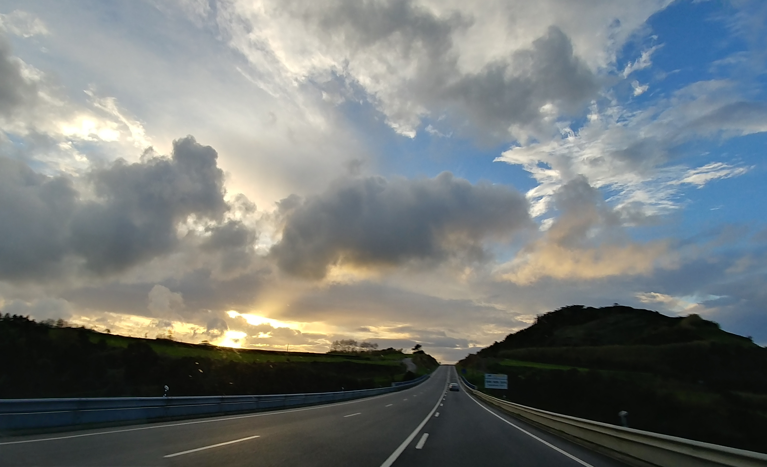 New road connecting the northeastern region of São Miguel
