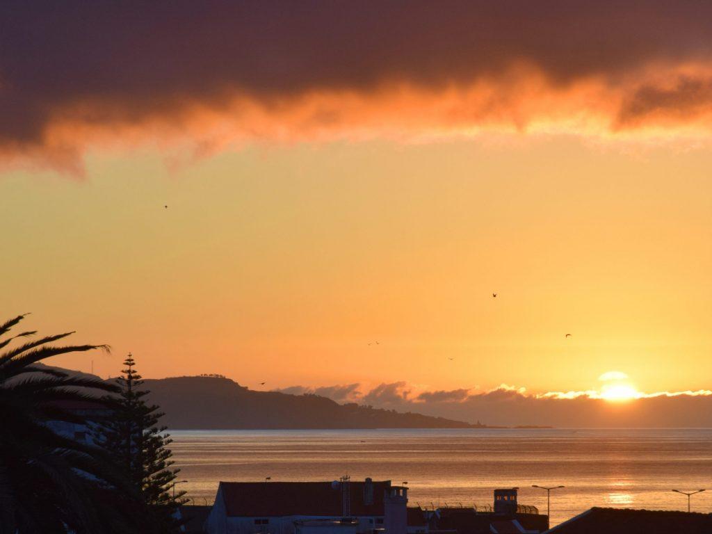 Sunrise in Ponta Delgada