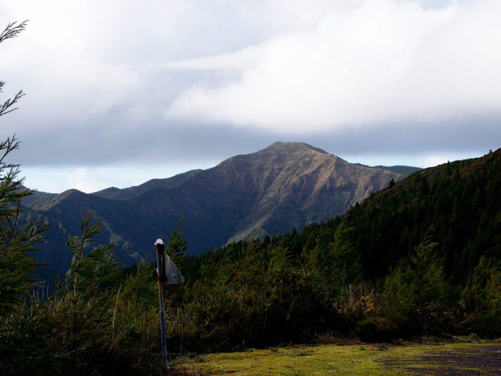 The Pico da Vara seen from the Miradouro do Pico Bartolomeu