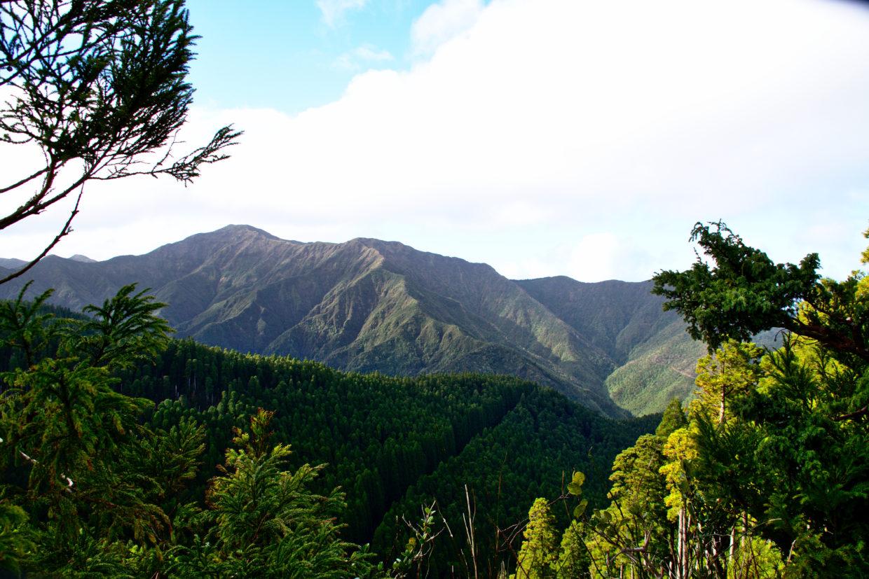 Pico da Vara seen from the path to Miradouro do Pico Bartolomeu