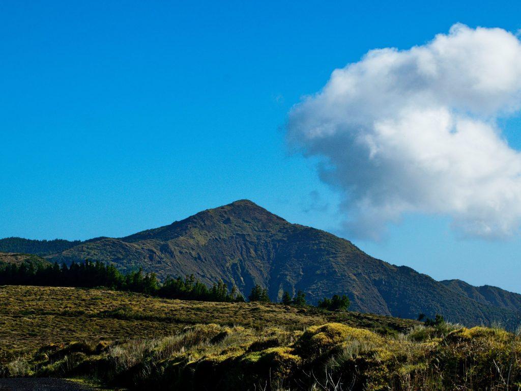 View of the Pico da Vara from the Miradouro do Pico da Vara