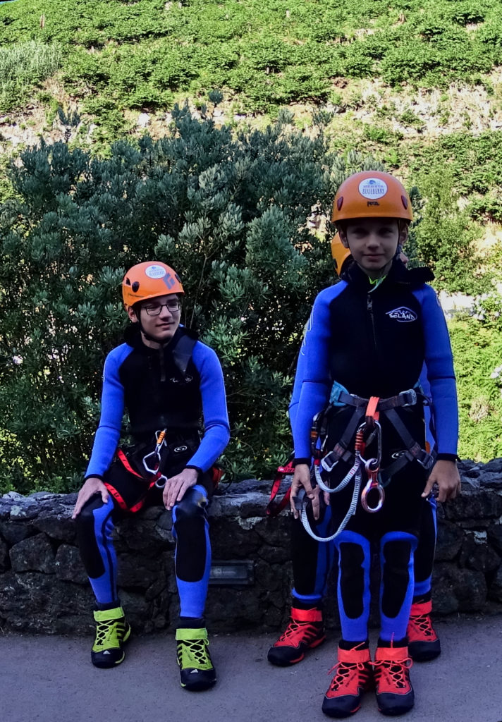 Equipment for Canyoning