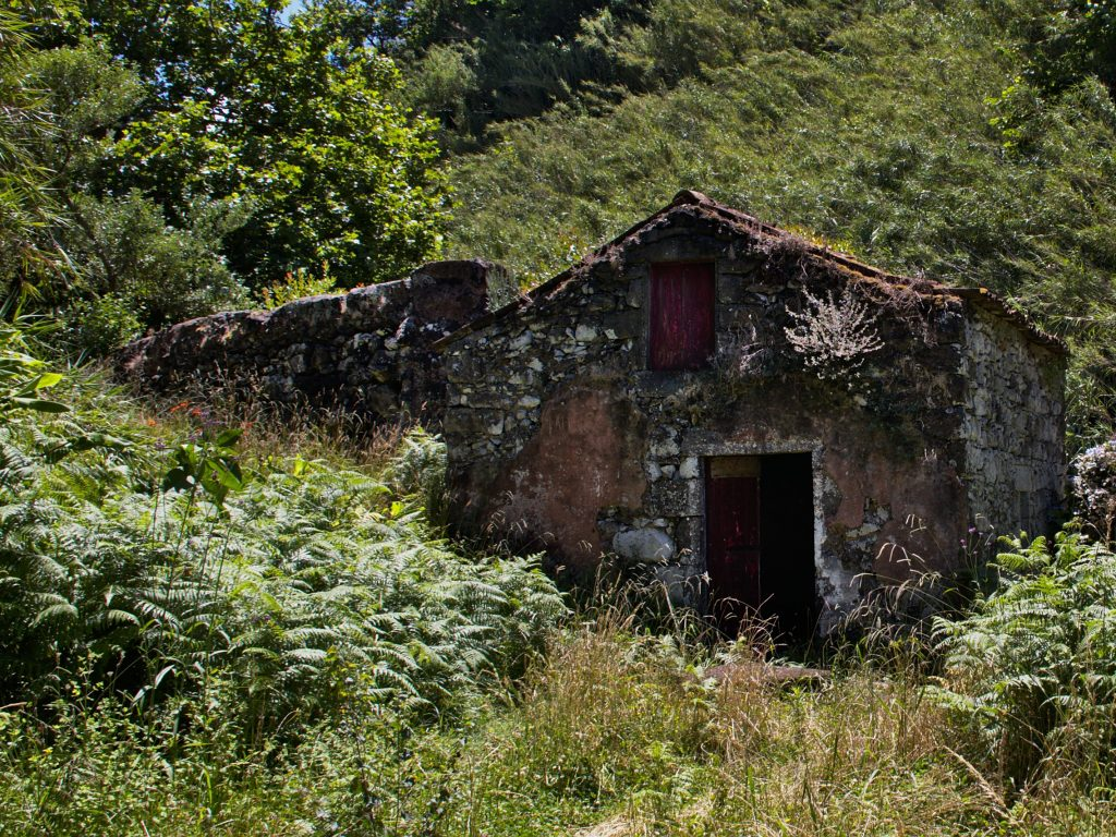Moinhos da Ribeira Funda - marked by weather and humidity