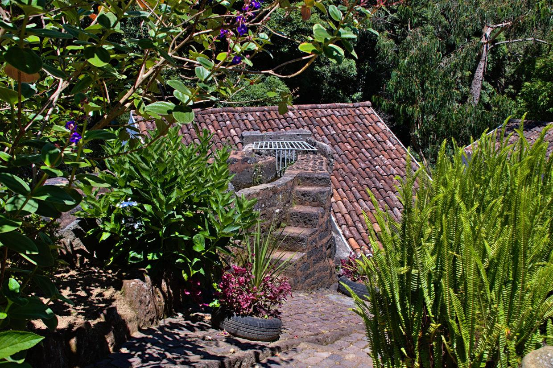 Old mill in the Jardim da Ribeira do Guilherme.