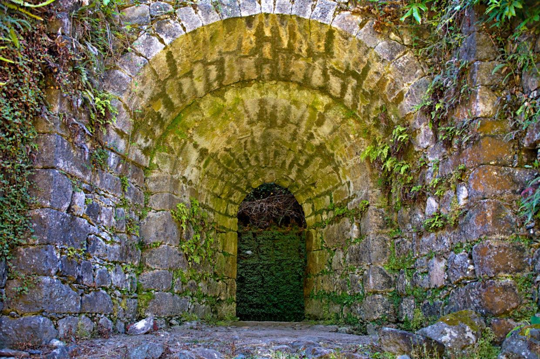 Entrance into the Forno da Cal