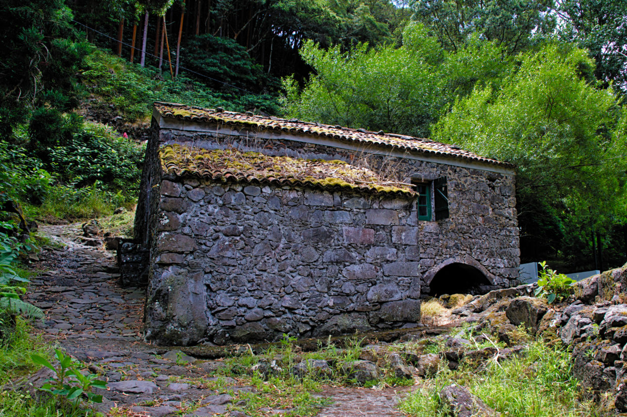 Watermill at the Ribeira do Guilherme