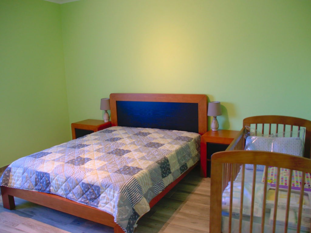 third bedroom optionally with another toddler bed