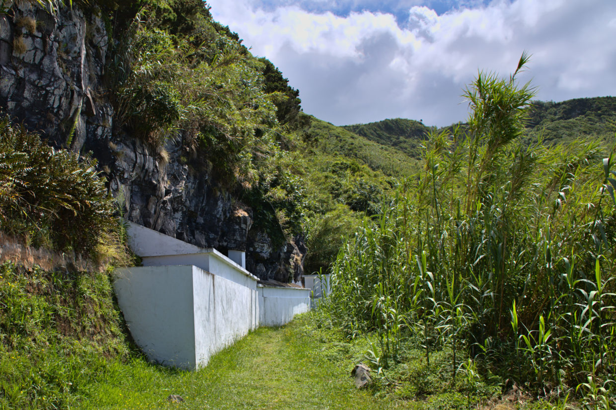 Integrated drinking water springs by the Pico da Mafra