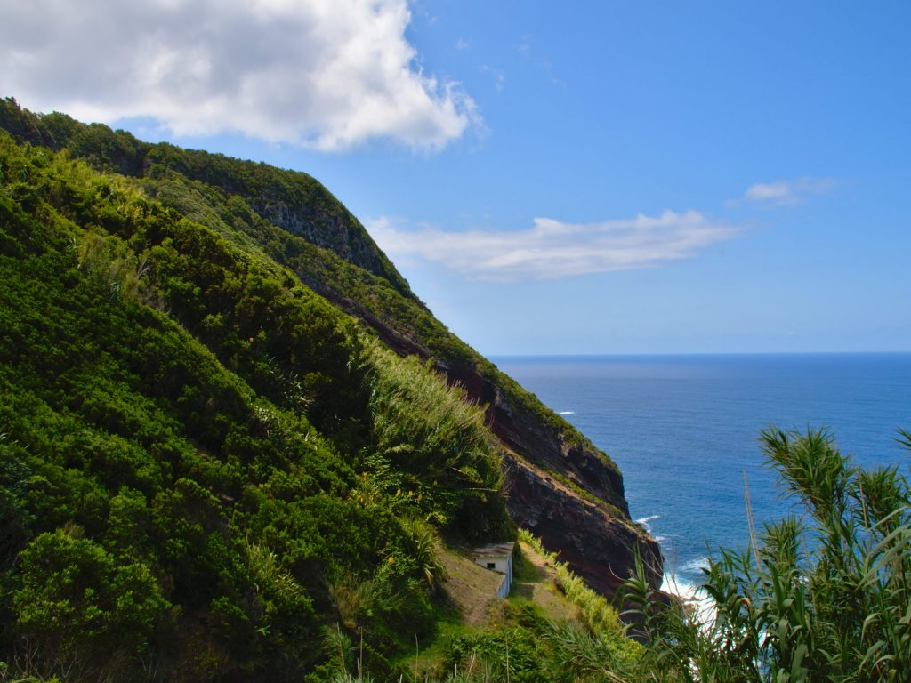 Coast west of the Pico da Mafra