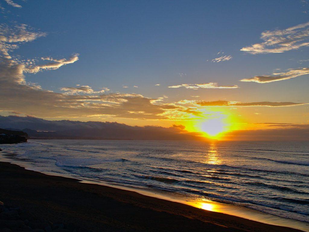 Sunset at Ribeira Grande
